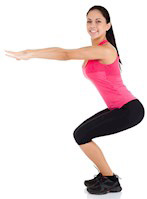 Lower Body Warm Up – Air Squats