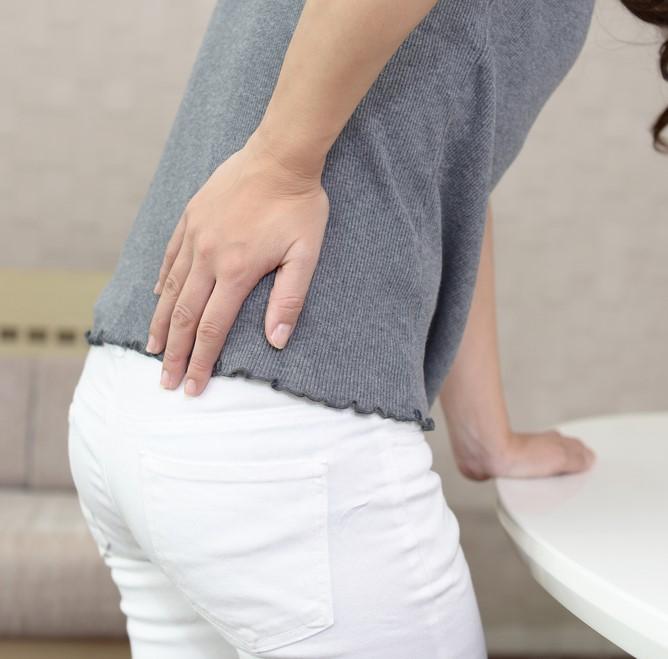 woman with lumbar disc buldge